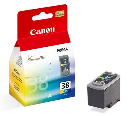 Картридж CANON (CL-38) PIXMA iP1800/3500/MP140/190/210/220/MX300/310 (2146B005)