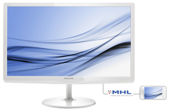 "Philips 23.6"" 247E6EDAW/00 ADS-IPS White"