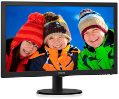 "Philips 23"" 233V5LSB/01 Black"