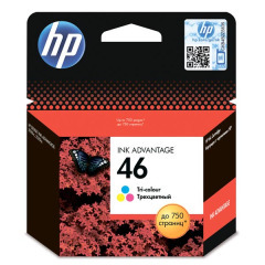 Картридж HP №46 DJ Advantage 2020HC/2520HC (CZ638AE) Color