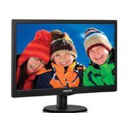 "Philips 18.5"" 193V5LSB2/10 Black"