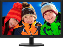 "Philips 21.5"" 223V5LHSB/00 Black"
