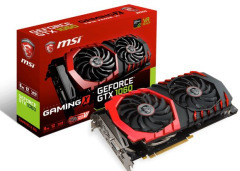 GF GTX 1060 3Gb GDDR5 Gaming MSI (GeForce GTX 1060 GAMING X 3G)