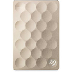 "HDD 2.5"" USB 1.0TB Seagate Backup Plus Ultra Slim Gold (STEH1000201)"