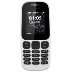 Nokia 105 DS New White (A00028316)
