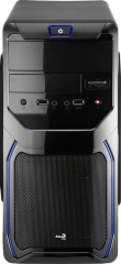 AEROCOOL PGS QS 183 Advance (Blue) (4713105956436) + БП Aerocool VX-550 550W