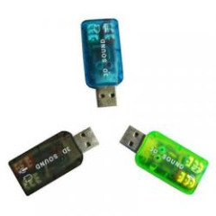 USB-sound card (5.1) 3D sound