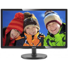 "Philips 19.5"" 206V6QSB6/62 AH-IPS Black"