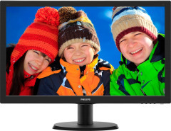 "Philips 23.6"" 243V5LSB/62 Black"