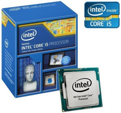 Intel Core i5 4590 3.3GHz (6mb, Haswell, 84W, S1150) Box (BX80646I54590)