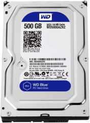 HDD SATA 500GB WD Blue 5400rpm 64МB (WD5000AZRZ )