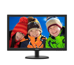 "Philips 21.5"" 223V5LHSB2/01 Black"