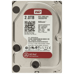 HDD SATA 2.0TB WD Red 5400rpm 64MB ( WD20EFRX)