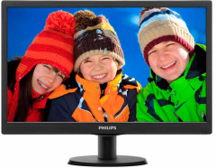 "Philips 18.5"" 193V5LSB2/62 Black"