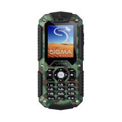 Sigma mobile X-treme IT67 Dual Sim Khaki (4827798283233)